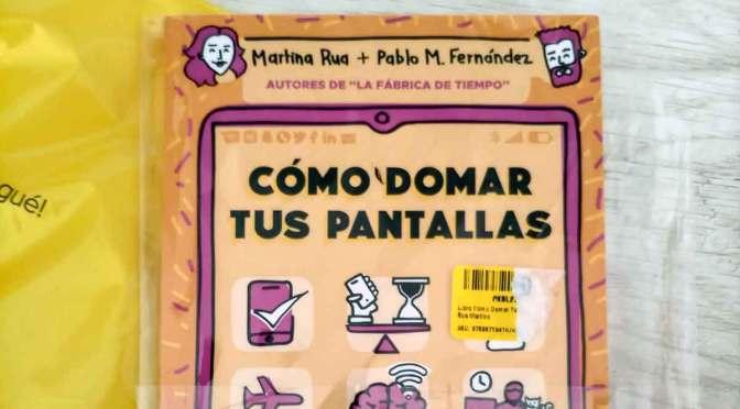 Mi celebración del día del libro, con Martina Rúa y Pablo Martín Fernández