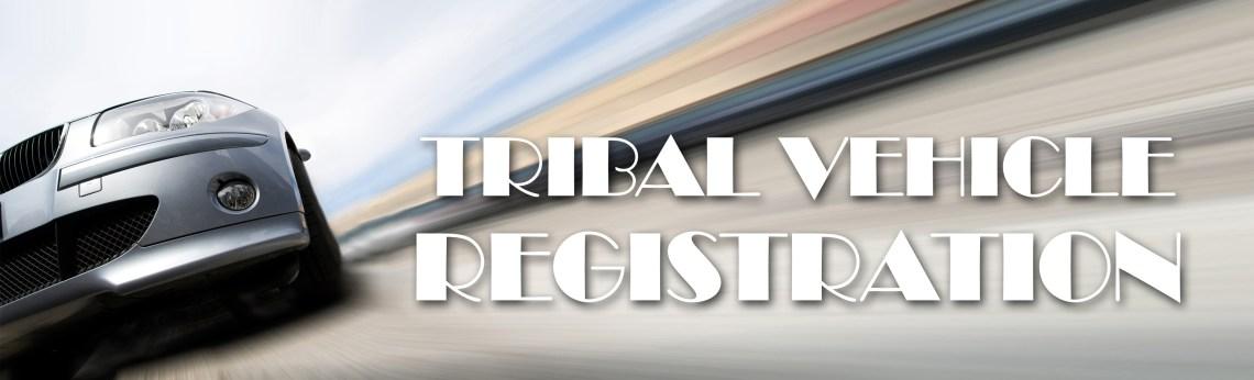Web header Vehicle Registration