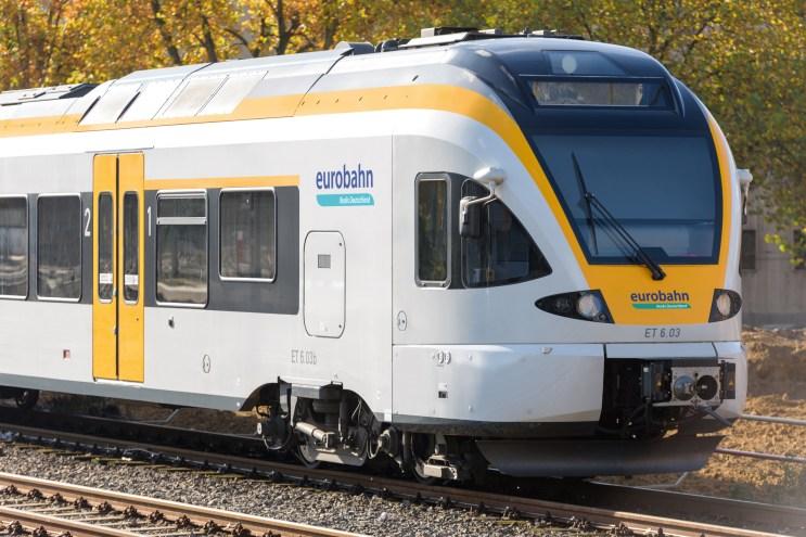Symbolbild: Ein Zug der Eurobahn. (Foto: © Eurobahn)