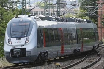 Abellio-Zug zwischen Naumburg und Jena. (Foto: © Abellio)