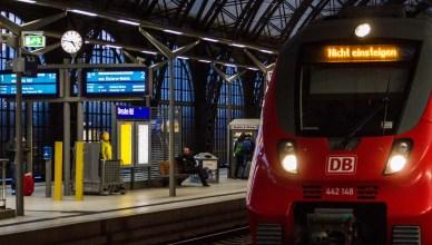 """""""Nicht einsteigen"""": Zugfahrt endet hier. (Foto: © DB AG / Kai Michael Neuhold)"""