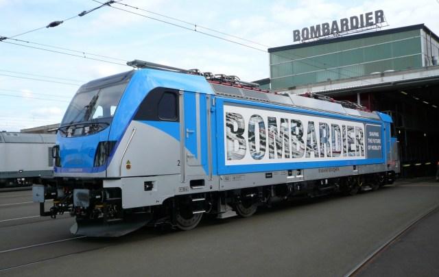 Eine TRAXX F140AC Last Mile Locomotive des Herstellers Bombardier. (Foto: © Bombardier)