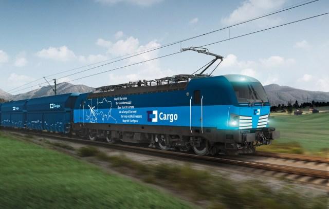 Das tschechische Schienengüterverkehrsunternehmen ČD Cargo hat bei Siemens fünf Lokomotiven vom Typ Vectron MS bestellt. (Fotografik: © Siemens)