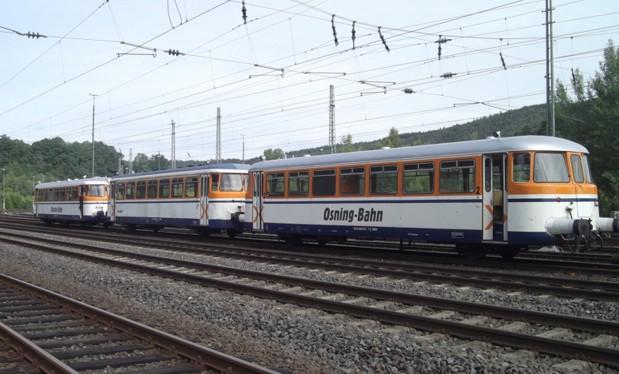 Symbolbild: Schienenbus der Osning-Bahn. (Foto: © Osning-Bahn)