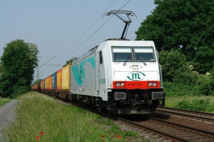 Eine Lokomotive vom Typ TRAXX F140 MS Locomotive (Foto: © Bombardier)