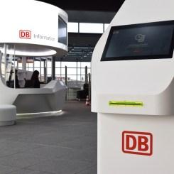 Eine erste Ausführung der DB Information 4.0 steht bereits im Bahnhof Berlin-Südkreuz. (Foto: © Bahnblogstelle)