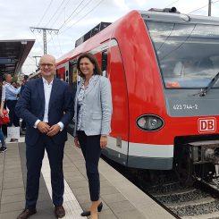 Heiko Büttner und Ilse Aigner