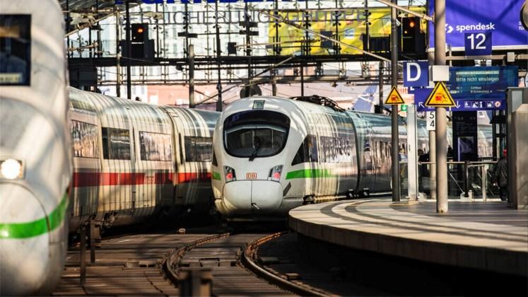 Fernverkehr der Deutschen Bahn: Pünktlichkeit ging im Januar leicht zurück