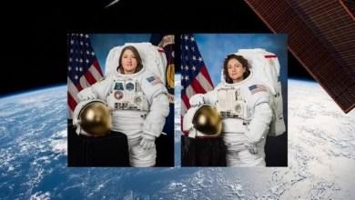 Photo of بالفيديو.. رائدتا الفضاء الأمريكيتان خرجتا من المحطة الفضائية إلى الفضاء المكشوف