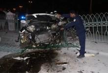 Photo of وفاة بحريني وإصابة آخرين في تصادم سيارتين على شارع الشيخ جابر