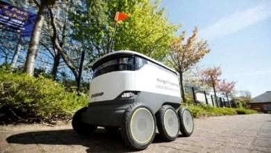 """Photo of في ظل العزل.. """"روبوتات"""" تشتري وتوصّل الاحتياجات لسكان مدينة بريطانية"""