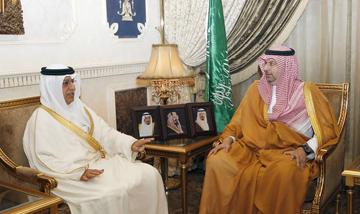 SCYS Secretar-General meets Saudi General Youth Welfare President