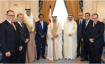 HRH Premier affirms support to banking sector