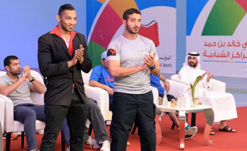 Mohammed Shahid (the Hawk), praised the patronage and support of HH Shaikh Khalid bin Hamad