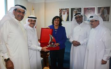 Health Minister receives BPCS delegation
