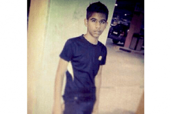One of the Bahraini children killed during a protest last year