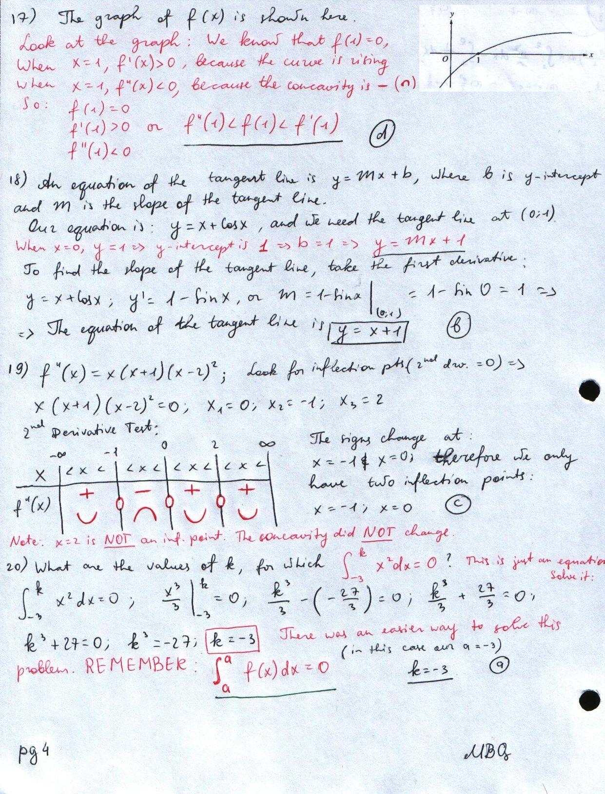 Calculus Hw4