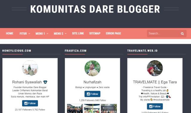 Komunitas Dare Blogger