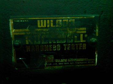wilson hardness tester jadul 2