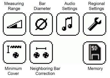 08 menu profoscope