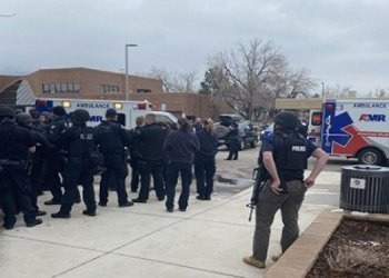 america officer among multiple people lost his life after gunman open fire in colorado grocery store
