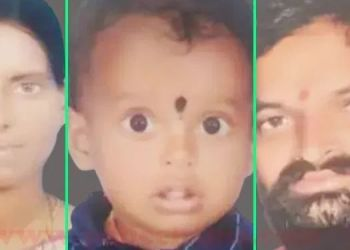 wife-suicide-with-3-year-old-son-in-lake-after-husband-death-due-to-covid-19-in-loha-in-nanded-district
