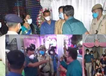 tripura-district-magistrate-seals-two-marriage-halls-for-flouting-covid-norms