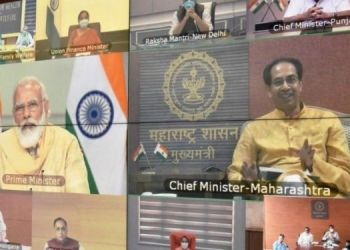 ahmednagar-district-collector-appreciated-cm-uddhav-thackeray-in-meeting-with-prime-minister-narendra-modi