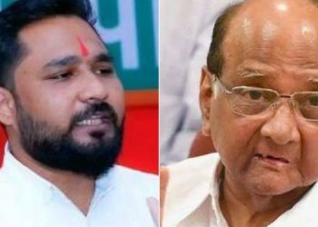 offensive-tweet-about-sharad-pawar-and-rohit-pawar-mumbai-police-arrested-bjp-yuva-morcha-state-secretary-pradip-gawde-from-pune