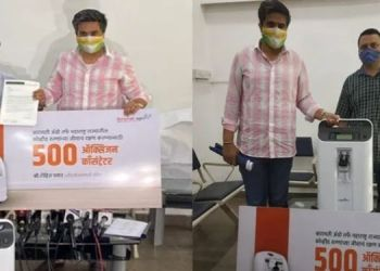 baramati-agros-social-commitment-during-corona-period-500-oxygen-concentrators-for-the-state-handed-over-to-health-minister-tope
