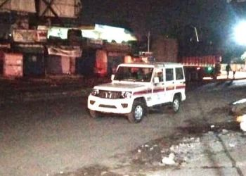 pune-police-vehicle-in-the-hands-of-drunk-driver-a-disturbing-type-at-shikrapur-chakan-chowk