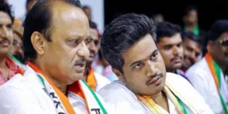 ajit pawar talks rohit pawars opponent ram shinde closed door discussion but former minister said its rumours