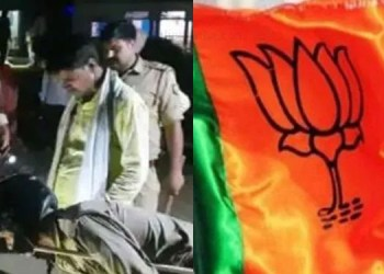 Gorakhpur Crime bjp leader mother and son killed gorakhpur water drainage dispute wife and daughter injured