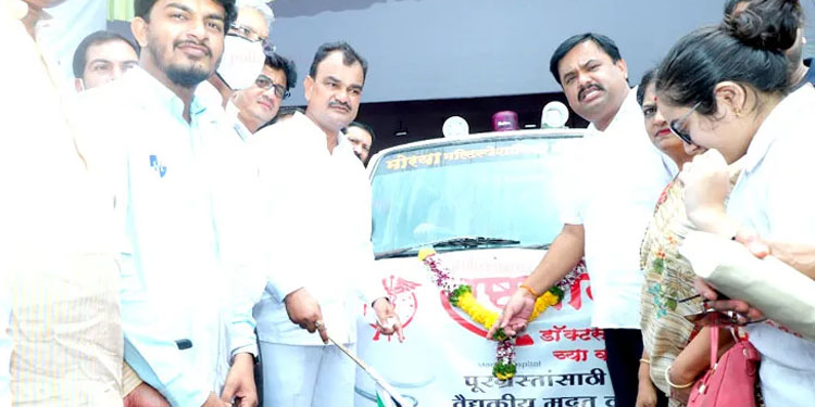 Pune News Overwhelming response to the NCP s blood donation camp 1883 units Collection
