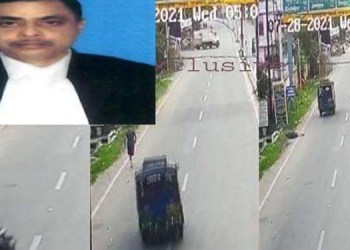 Suspected Death of Judge dhanbad stolen auto was used to kill jharkhand dhanbad district and sessions judge uttam anand