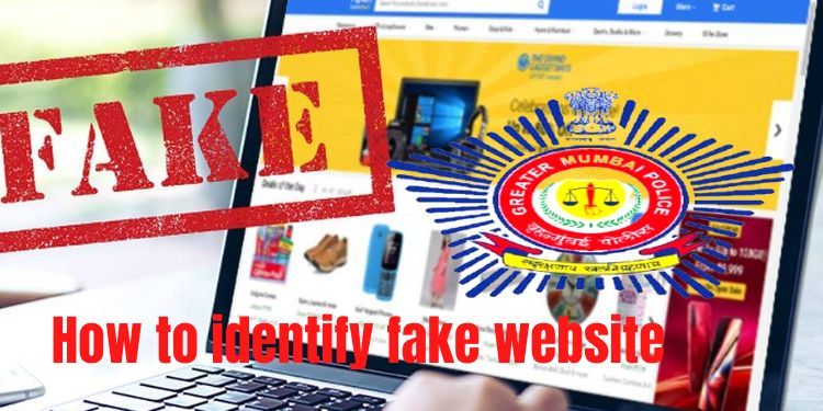 Fake website | How to identify a fake 'website' ?, 4 important points given by Mumbai Police, find out.
