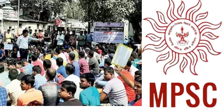 MPSC   officers selected after mpsc examination but no appointments are protesting in pune.
