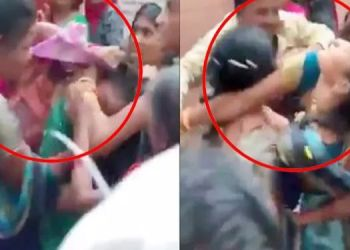 Covid Vaccination | Women who broke up with each other after receiving the vaccine, had a violent fight; Pulled each other's hair (Video)