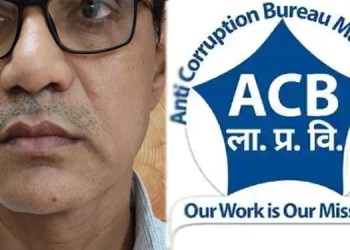 Anti Corruption Irrigation Branch Engineer Murlidhar Patil arrested in Dhule for accepting bribe of Rs 2 lakh 20 thousand