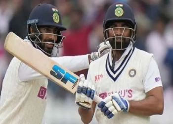 Ind vs eng jasprit bumrah and mohammed shamis brilliant batting put india forward in lords test.