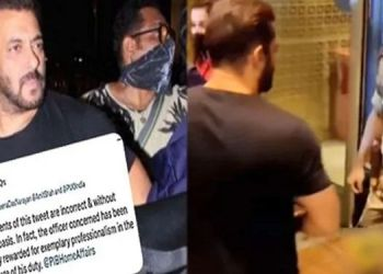 Salman Khan   in the case of stopping salman khan at the airport cisf clarification.