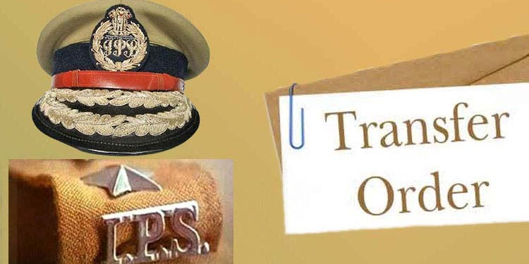 IPS Officer Transfer   Appointment of 12 IPS officers in the state