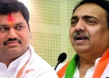 Jayant patil no one can defeat dhananjay munde for next 50 years says jayant patil in beed district.
