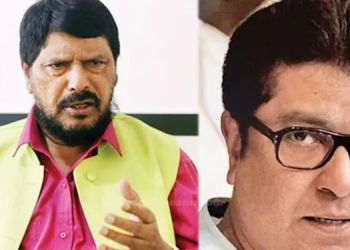 Pune News | BJP should not follow Raj Thackeray's call, it will be a blow - Ramdas Athavale.