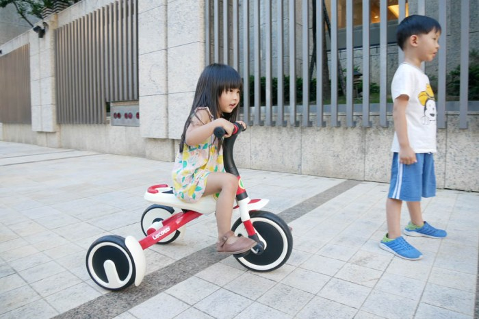 [啾團] 上山下海放心的騎吧!義大利Lecoco白武士可折疊二合一兒童三輪車.集合帥氣與便利的質感三輪車
