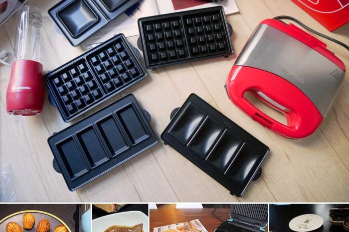 [啾團] 全新2019日本Vitantonio鬆餅機,小V鬆餅機蘋果紅VWH-35B.媽媽們廚房的夢幻逸品!一機四盤