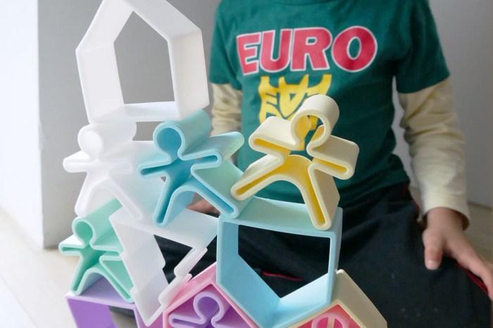 [啾團] 西班牙dëna 多功能益智軟積木/疊疊樂-可玩又可煮的好玩益智玩具