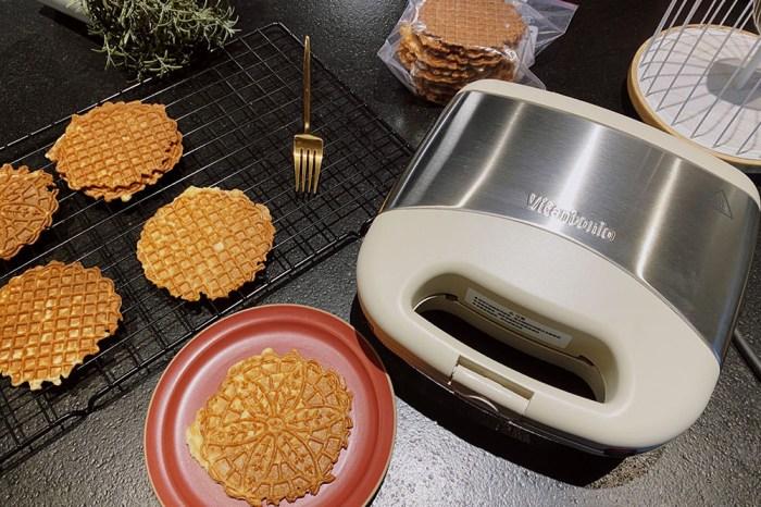 [啾團] 做早餐點心的夢幻機!全新2020日本Vitantonio小V鬆餅機奶油白VWH-36B.媽媽們廚房的夢幻逸品!一機五盤