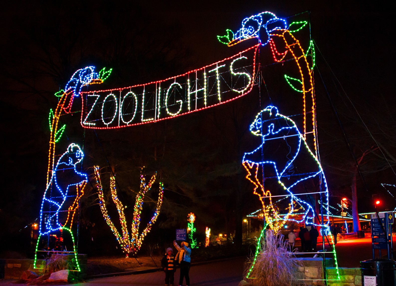 Oakland Zoo Holiday Lights