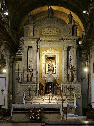 La arquitectura altar ns de Balvanera